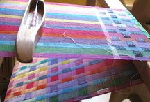 Knitting and weaving