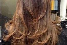 Medium & Long Hairstyles: Cut and Color Ideas / Hair