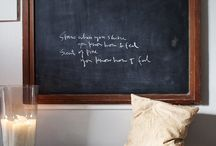 {chalk board} / by Natalie Simpson