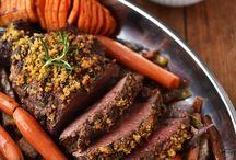 Rind Rezepte&Produkte / Bio-Rindfleisch in seiner besten Form. Rindsbraten, Gulasch, Steaks & Co.