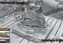 Jagdpanther gun static mount