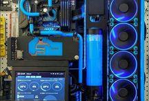 Water cooled pc setup