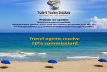 Travel services offered