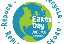 Earth Day / A board dedicated to celebrate Earth Day on April 22!