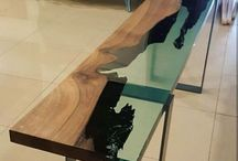 resin/epoxy furniture