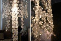 diy chandelier, lamp, lightining
