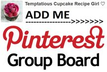 Cupcake Girl ADD ME GROUPS / Follow me and come Join the fun! I follow back! Temptatious Cupcake Girl Group Owner of Group Boards: Luscious Cupcake Recipes............Romantic Wedding Cupcakes...........Divine Red Velvet Cupcakes