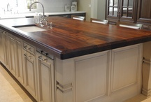 Wood Countertops / by Hoffman Kitchen and Bath