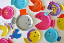 Paper Plate and Paper Bag Crafts