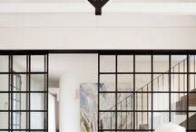 lounge/TV room divider: oak ave