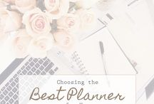 planning + organization / Intentional planning and living an organized life.
