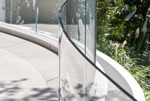 Private Residence - Parnell New Zealand / Balustrades made from ultra-clear, low-iron glass