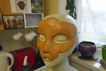 Evolution of a Masquerade/Cosplay Lioness Mask.