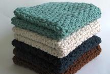 Washcloths, coasters