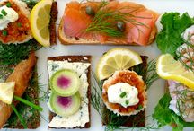 Danish open sanwiches