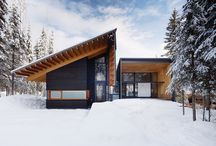 Modern Winter Cabins