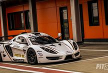 Sin R1 GT4 at Motorpark Romania / Sin R1 GT4 with tests at Motorpark Romania for sinal set up, days before the first round from European GT4 series 2017, which will be held at Misano (Italy) at 31th March, 1st and 2nd of April.