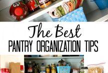 Organização - Cozinha e Despensa