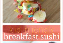 Children Tasties ` / Snacks for kids to make themselves