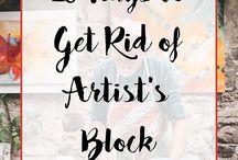 Artist block challenges