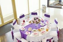 Fuchsia&lilac wedding / Свадьба цвета фуксии и лилового