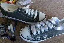 vyšívané boty