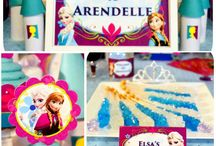 Frozen Party Ideas / by Lisa Nieves