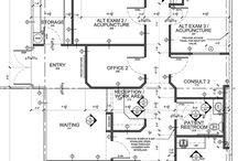 Hospital floor plan