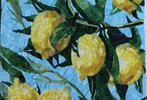mosaico goma eva