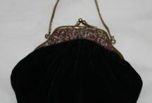 velvet and beads bag