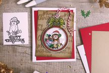 Tonic Studios // Festive Friends / Leap into Christmas with some new friends this festive season! The Festive Friends range includes wonderful dies, stamps and baubles to enable you to create fantastic bauble designs featuring the cutest characters to colour in.Mix and match with dogs, cats or seasonal sentiments on your projects to spread the Christmas cheer!