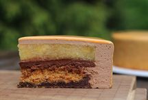 Муссовый торт апельсиновый трюфель