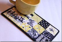 Cool mug rugs&placemats