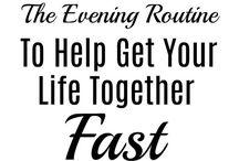 Routine: evening