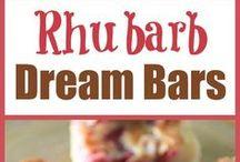 All things rhubarb