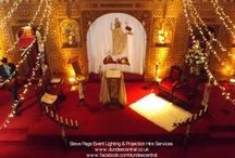 Fife Weddings / Lighting Hire and Projection Hire for weddings in Fife