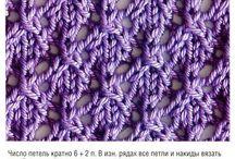 minták / kotés horgolás minták