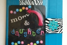 Things I Recreated From Ideas / Mother and Daughter Journal. A great way to communicate with your little girl. Made from composition note book, duct tape, and scrap book supplies. / by Elizabeth Andersen