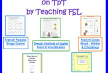French immersion Fun-educational Pins