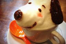 Coffee Art   -SNOOPY-
