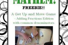Math Activities/Games / by Vanessa Quintana