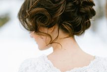 Wedding Hair Ideas / Selection of ideas for bride and bridesmaid hair. NOTE these are pinned from third party websites