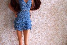 šaty na panenky