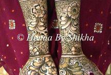 Mehendi bridal patterns / by Mehvish Malik