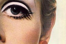 maquillaje años 60-60