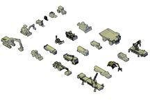 3D Heavy vehicles CAD collection / Download this 3D HEAVY VEHICLES CAD COLLECTION. The following vehicles are included: Bullldozers, cherry pickers, forklift trucks, tractors, transporters, articulated lorries, cranes, dumpers trucks, excavators, wheel loaders, tanker trucks and more - See more at: http://www.cadblocksfree.com/downloaddetails.php?id=3603#sthash.Yx1dziRB.dpuf