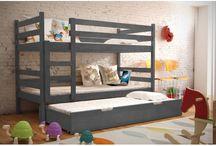 patrová postel s přistýlkou