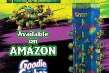 Teenage Mutant Ninja Turtles Goodie Gusher / The Key to Party Fun with Teenage Mutant Ninja Turtles!