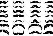 Mustache Vector Collection / What an amazing funny collection of Hipster Mustache Vector Collection here? For some reason every individual having certain hipsterism in their mannerisms so that it will be an easy job for you to include this hipster mustaches in your funny designs!
