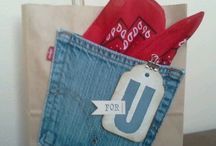 Wrapping with Jeans!